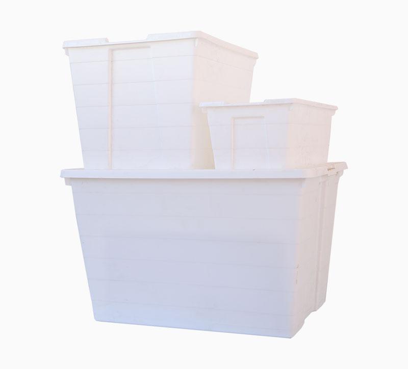 صندوق تركيبة صندوق تخزين قالب أبيض