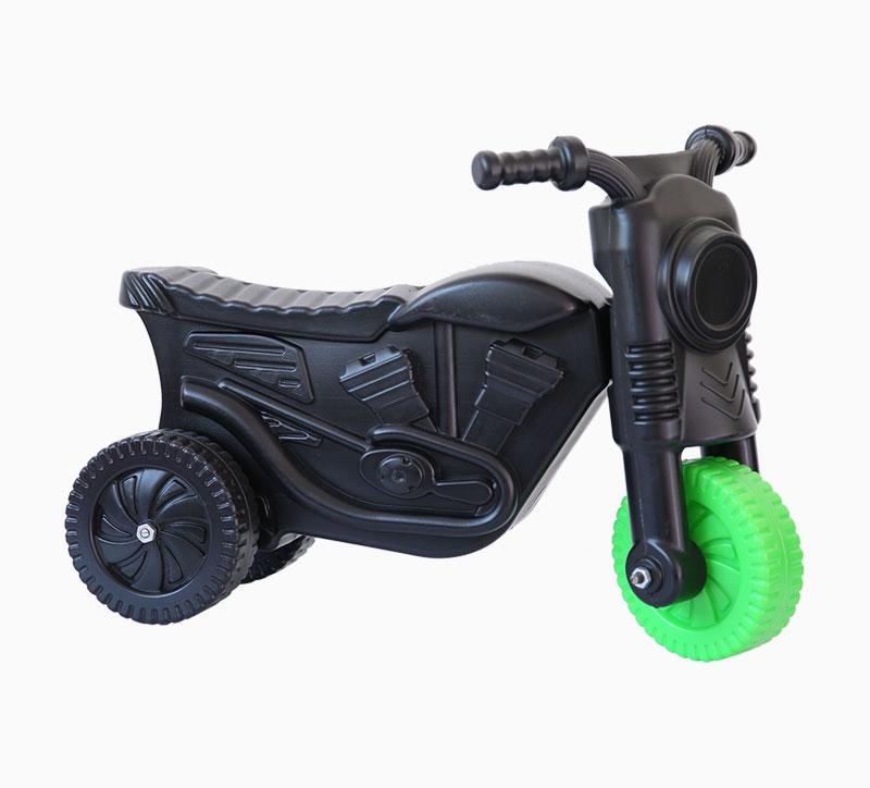 لعبة أطفال لعبة الدراجات النارية تهب العفن الأسود