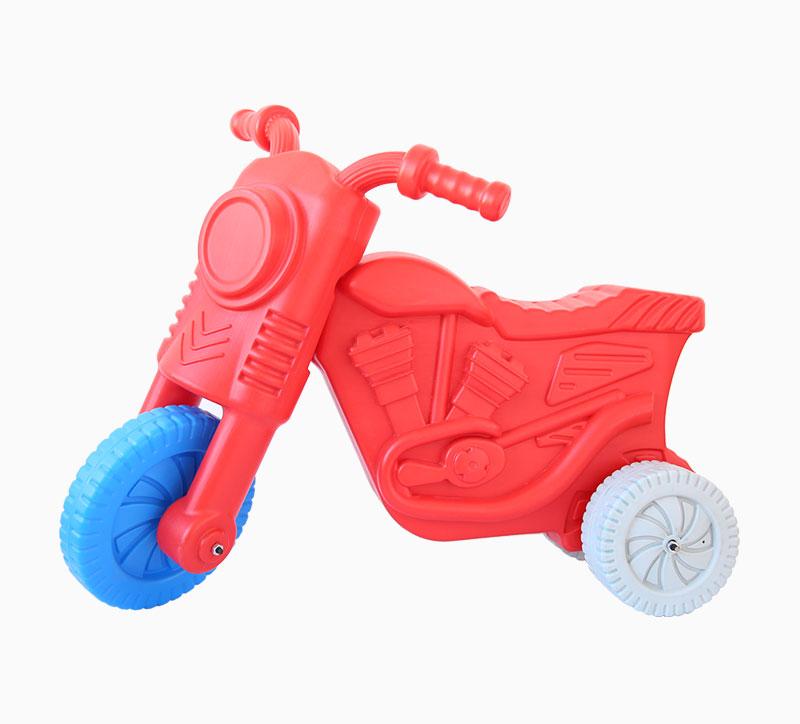 لعبة أطفال لعبة الدراجات النارية تهب العفن الأحمر